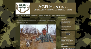 AGR Hunting website