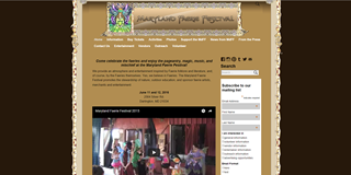 Maryland Faerie Festival website